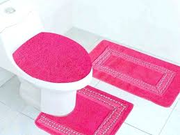 blush bathroom rug collection in hot pink rugs bath emedics co for design 17