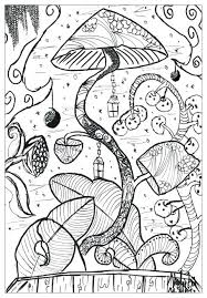 mushroom coloring page colouring pages psychedelic super cute mu colouring pages coloring printable cute and vegetation