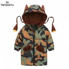senarai harga boys warm winter coat baby parkas for girls camouflage infant overcoat children s winter jackets toddler hooded cotton clothes terkini di
