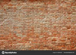old brick wall texture background sunny day high detail stock photo