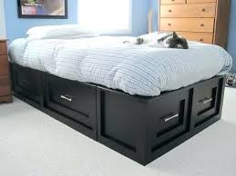 white twin storage bed. Twin Storage Headboard Black Bed With Bookcase White Size Projects .