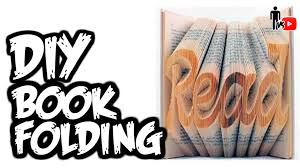 folded book art letter patterns diy book folding man vs you 7 of folded book art