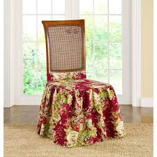 Sure Fit Waverly Ballad Bouquet Dining Room Chair Slipcover - Free Shipping  On Orders Over $45 - Overstock.com - 19973301