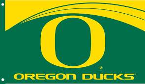 University Of Oregon Graphic Design In The Breeze Double Sided University Of Oregon Grommet Flag 3 By 5 Feet
