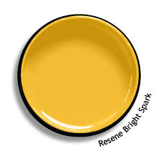 Resene Exterior Colour Chart Resene Bright Spark Is A Hot Sizzle Of Yellow From The