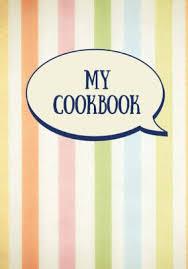 My Cookbook Blank Recipe Book Fill In The Blank Cookbook 125