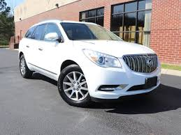 certified pre owned 2017 buick enclave leather