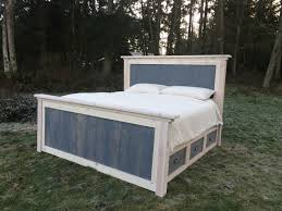 king storage bed plans. Diy King Farmhouse Bed Plans On Storage With Drawers