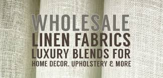 Small Picture Linen Fabric Upholstery Drapery Wholesale