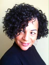 Short Crochet Hair Style crochet braids with freetress gogo curl bob cut tapered nape 6453 by wearticles.com