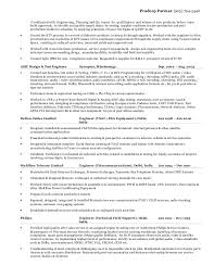 Process Integration Engineer Sample Resume Cover Letter Test