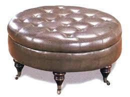 circular leather ottoman round coffee table impressive with stunning black stratford sto round black leather ottoman