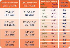 Compression Socks Sizes Chart Sigvaris 412c Performance 20 30 Mmhg Sports Compression