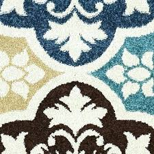 outdoor rugs 5x8 delectably yours decor summer tile aqua indoor outdoor rug or