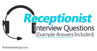 Job Interview Questions And Answers Top 6 Receptionist Interview Questions Sample Answers