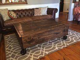 amazing design coffee table with wheels and storage attractive rustic for kitchen tedxumkc decoration