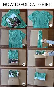 Folding Template For Clothes Make An Easy Diy T Shirt Folding Device From A Cardboard Box