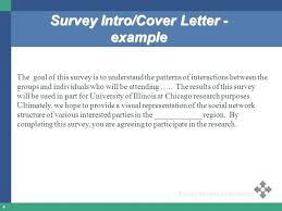 Survey Researcher Sample Resume Best Survey Questionnaire Cover Letter Samples Poemsviewco