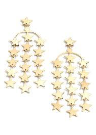 j crew falling star earrings