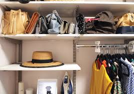 i used to think that a million matching storage bins would transform my real life closet but it turns out the key is giving each type of clothing its own