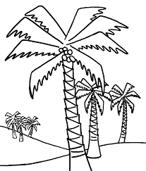 Small Picture Coconut Tree trees coloring pages Pinterest Patterns