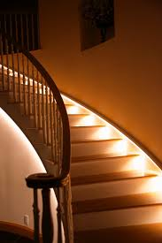 Staircase Lighting Fixtures Brookes And Hill Custom Builders Stairs  Recessed Stair Lights Ideas .