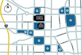 Fiserv Forum Food Seating And Parking Guide Event