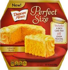 Owens Market Duncan Hines Perfect Size Lemon Bliss Cake