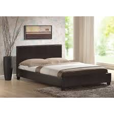 Add a touch of elegance with leather bed frame - Home Design