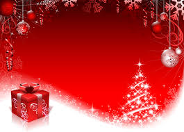 Free Christmas Website Templates Red Style Christmas Background Art Vector 01 Free Download