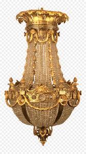 Kronleuchter Messing Antik Bronze 19 Jahrhundert Baccarat