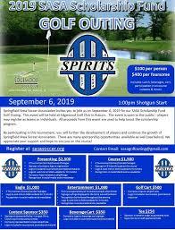 2019 Sasa Scholarship Fund Golf Outing