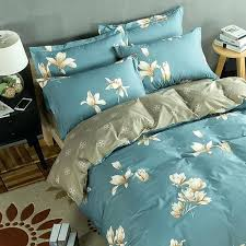 country western style duvet covers american past style shabby bird fl print bedding set country cotton