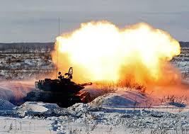 ВЕСТИРАМА РУ Контрольный выстрел танкисты второй армии провели  На Тоцком полигоне Оренбургской области прошли учения танковых подразделений 2 й общевойсковой армии которая переходит на модернизированную технику