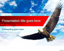 bald eagle template free united states bald eagle powerpoint template