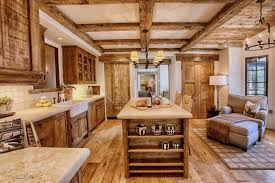 Primitive Kitchen Furniture Kitchen Rustic Small Primitive Kitchen Ideas With Hickory Walnut