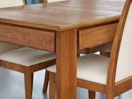 olten dark oak furniture hidden. Olten Extending Dining Table With Drawer In Oak Finish Dark Furniture Hidden A