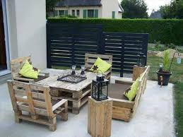 outside furniture made from pallets. Miraculous Patio Furniture Made Out Of Pallets Design That Will Make You Feel Fortunate For Home Styles Interior Ideas With Outside From