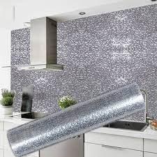 Kitchen Wall Stove Aluminum Foil Oil ...