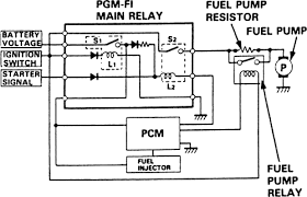 main relay fuel pump relay pgm f1 relay 2 fixya 1994 honda civic fuel pump relay at Wiring Diagram For 94 Honda Civic Fuel Pump