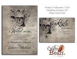 wicked halloween horror gothic wedding invitation diy Gothic Wedding Invitations Templates wicked halloween horror gothic wedding invitation diy printable gothic wedding invitations templates