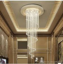 modern led crystal chandeliers stairs chandelier lamps crystal pendant lighting fixtures dining room indoor home deco lamp fixture wine glass chandelier