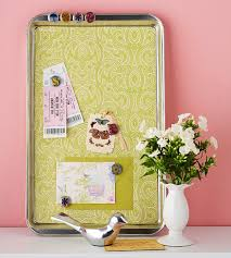 How To Make A Magnetic Memo Board Impressive DIY Turning Cookie Sheets Into Memo Boards