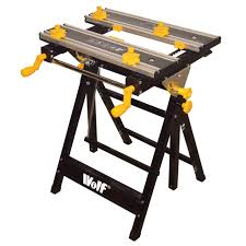 folding workbench. wolf craftmans folding metal work bench wood clamps worktop diy workbench m