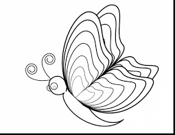 great printable butterfly coloring pages with butterfly color ...