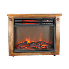 lifepro 3 element portable electric infrared quartz fireplace heater