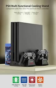 PS4Multifunctional <b>Cooling</b> Stand <b>TP4</b>-882C - PS4 - <b>DOBE</b>