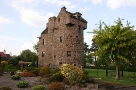 small castle house plans towers plan tower recent addition