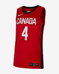 Canada Nike Road Mens Basketball Jersey