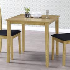 Small Square Kitchen Table New Haven Small Space Saving Square Dining Table  Light Oak Small Square .